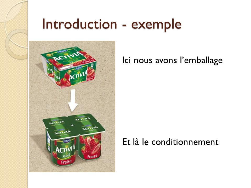 Introduction - exemple