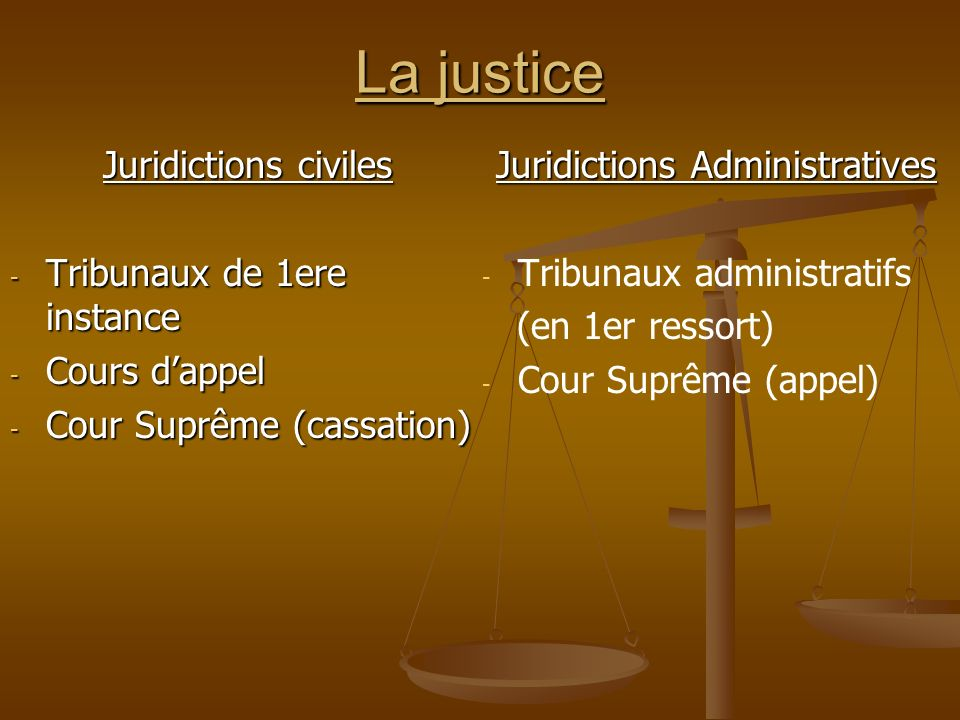 Juridictions Administratives