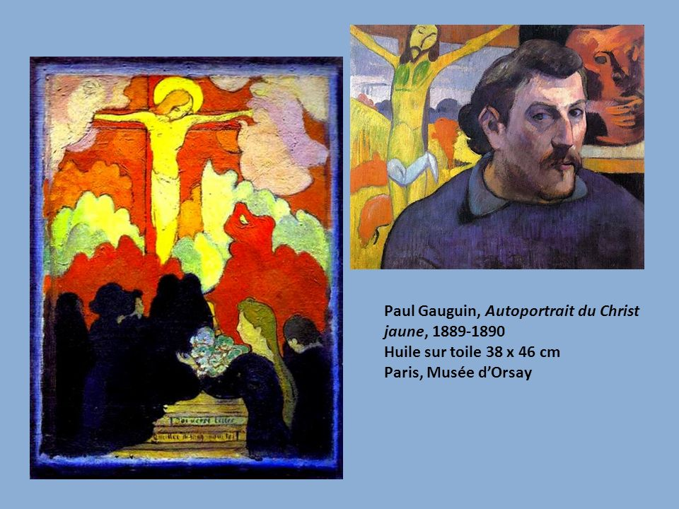 Paul Gauguin, Autoportrait du Christ jaune, 1889-1890