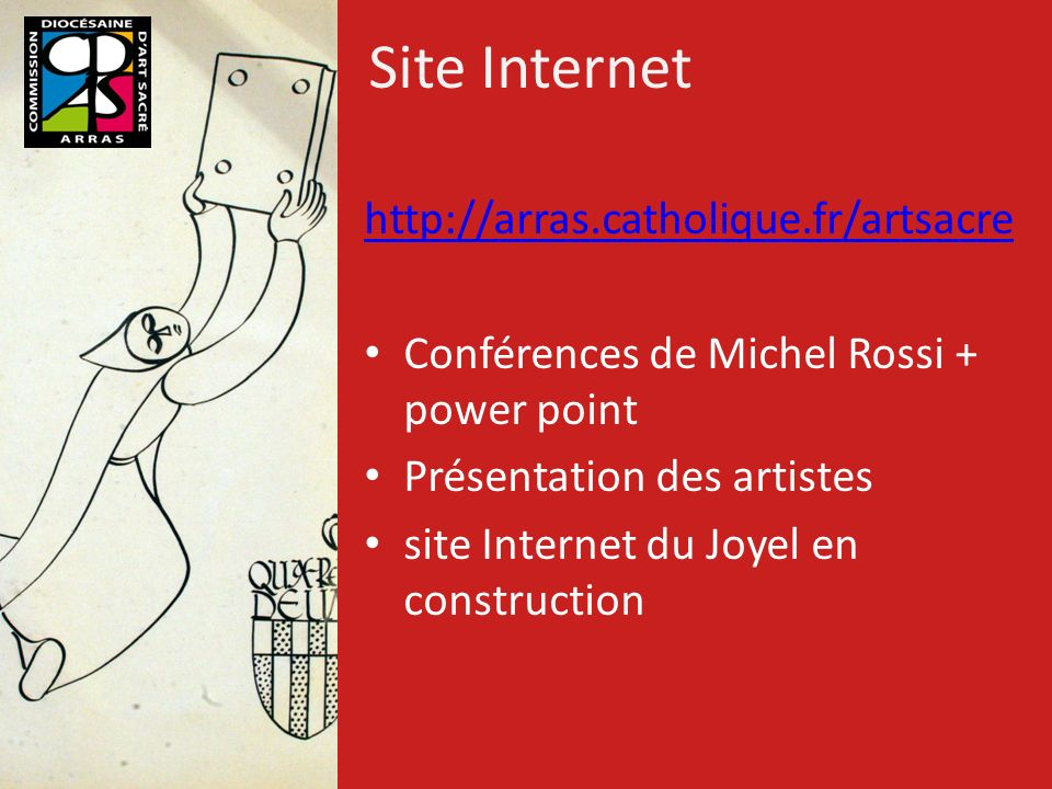 Site Internet http://arras.catholique.fr/artsacre