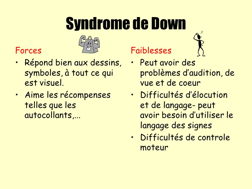 Syndrome de Down Forces