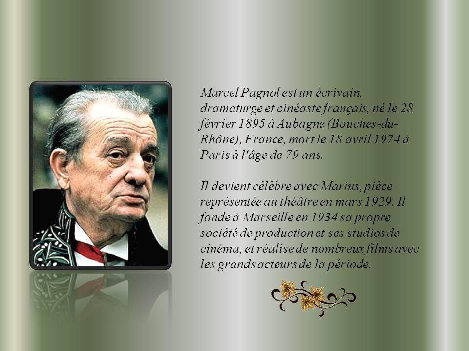 Citations De Marcel Pagnol Ppt Video Online Télécharger