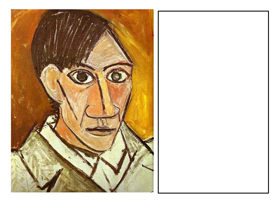 This is a self-portrait by Picasso