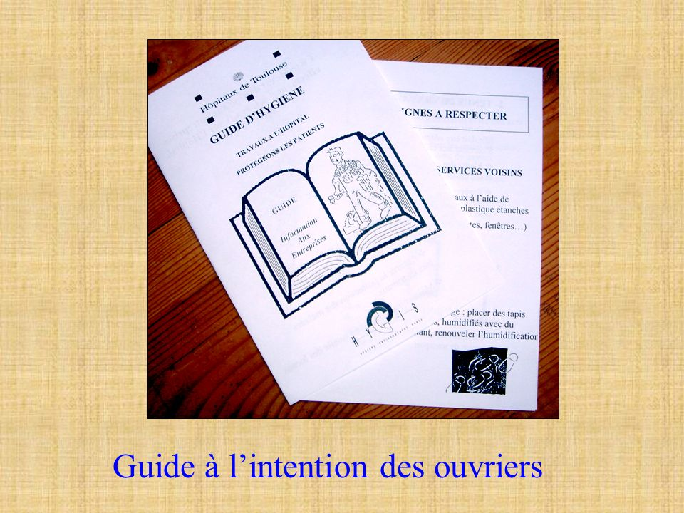 Guide à l'intention des ouvriers