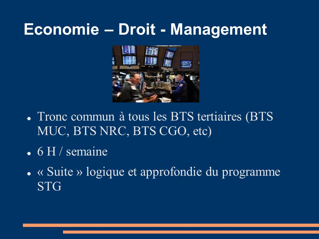 Economie – Droit - Management