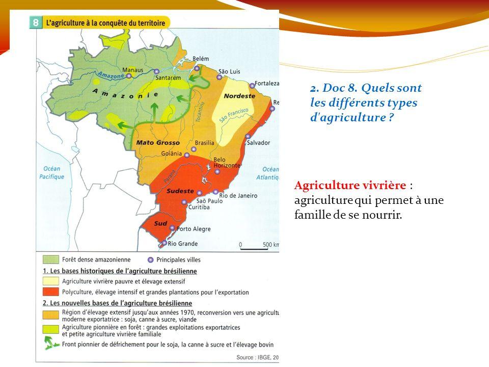 Nourrir Les Bresiliens Carte Mentale.Le Bresil Succes Et Revers De L Agriculture Productiviste Ppt