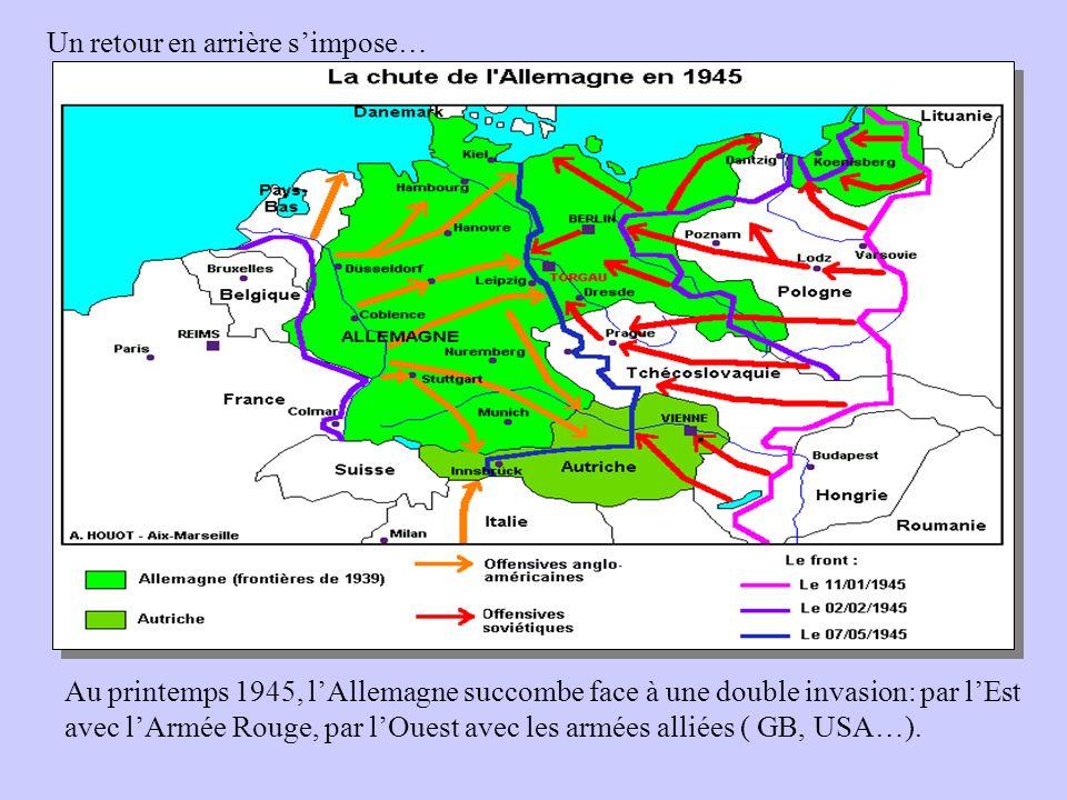 Carte Allemagne Occupee 1945.La Guerre Froide A Travers Les Cartes Ppt Video Online