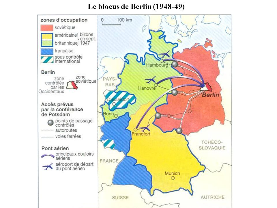Le blocus de Berlin ( )