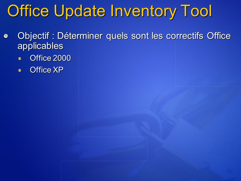 Office Update Inventory Tool