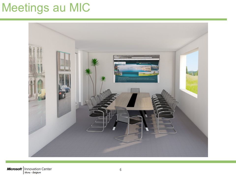 Meetings au MIC