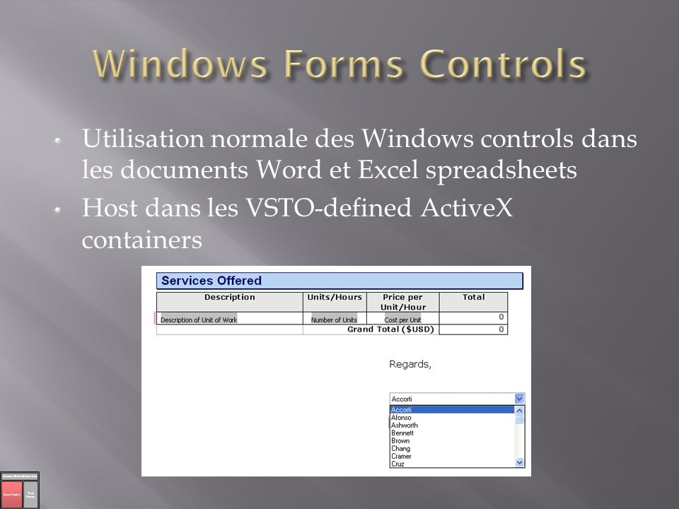Windows Forms Controls
