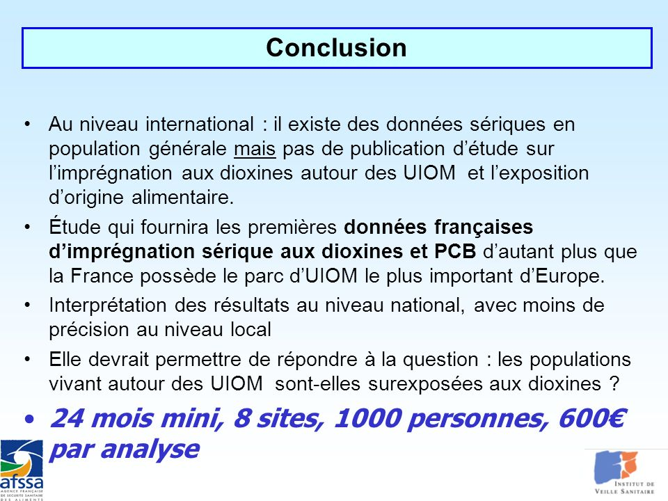 24 mois mini, 8 sites, 1000 personnes, 600€ par analyse