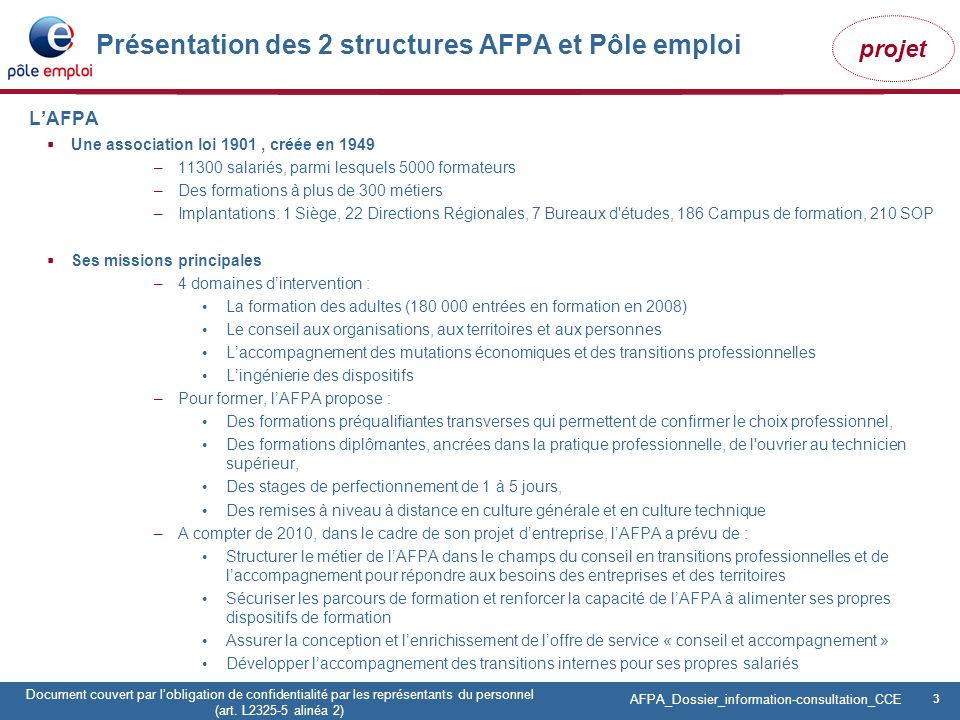formation pole emploi obligations