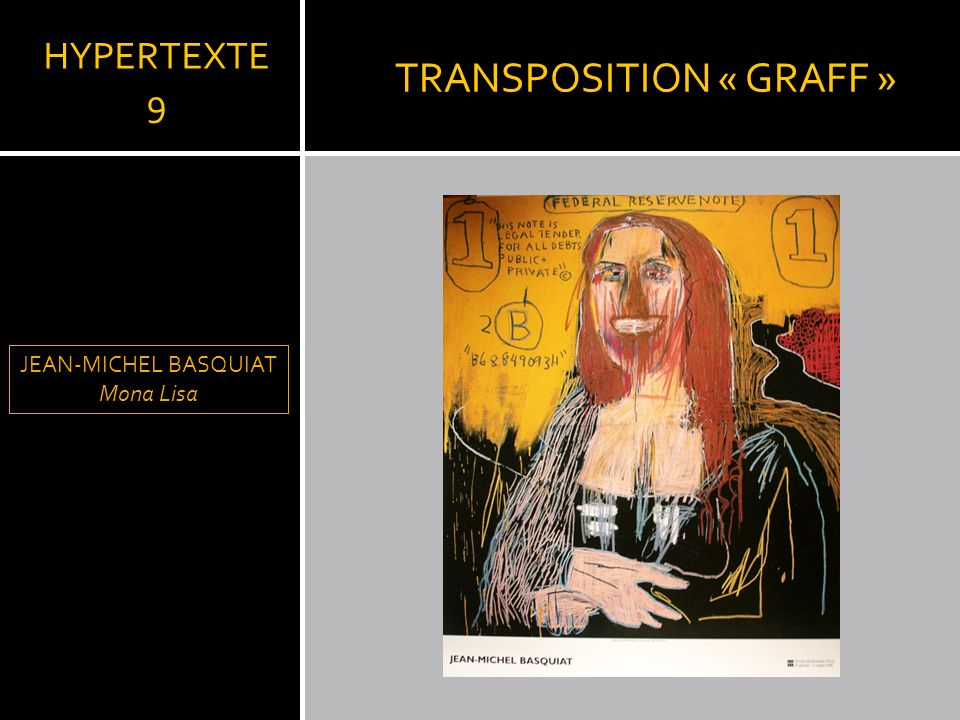 TRANSPOSITION « GRAFF »