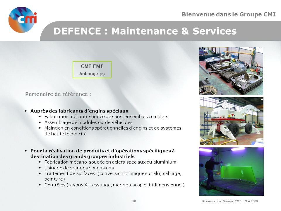 DEFENCE : Maintenance & Services