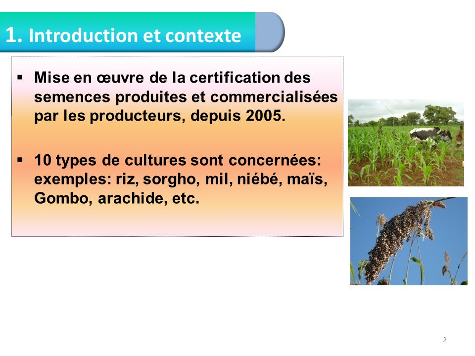 1. Introduction et contexte