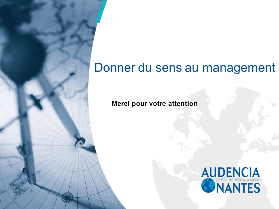 Donner du sens au management
