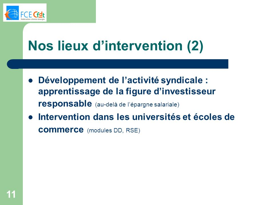 Nos lieux d'intervention (2)