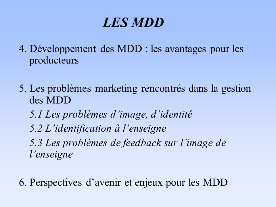 Mdd rencontres