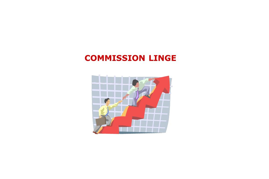 COMMISSION LINGE