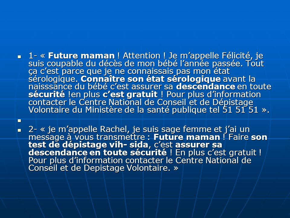 1- « Future maman. Attention