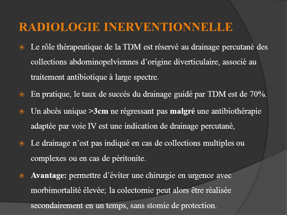 RADIOLOGIE INERVENTIONNELLE