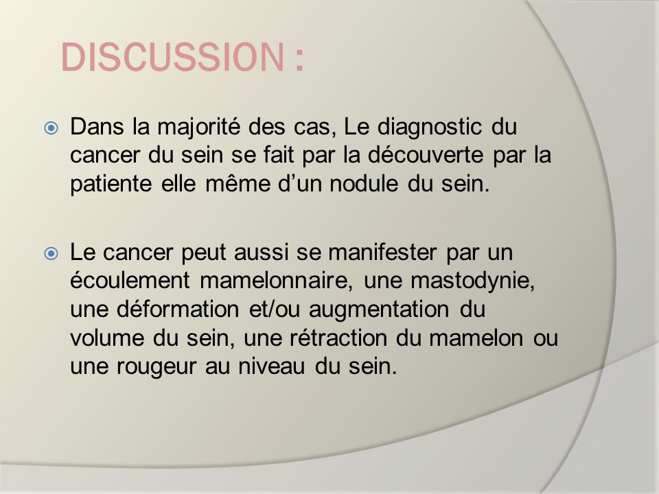 LE CANCER DU SEIN de LA FEMME JEUNE : a propos de 28 CAS breast: br ...
