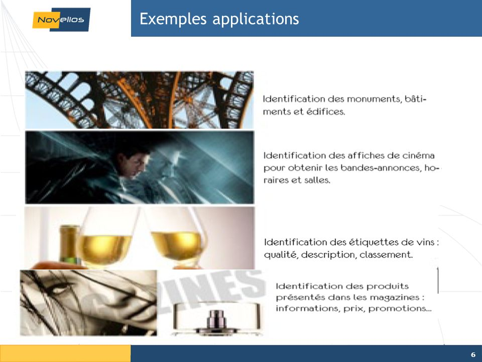 Exemples applications