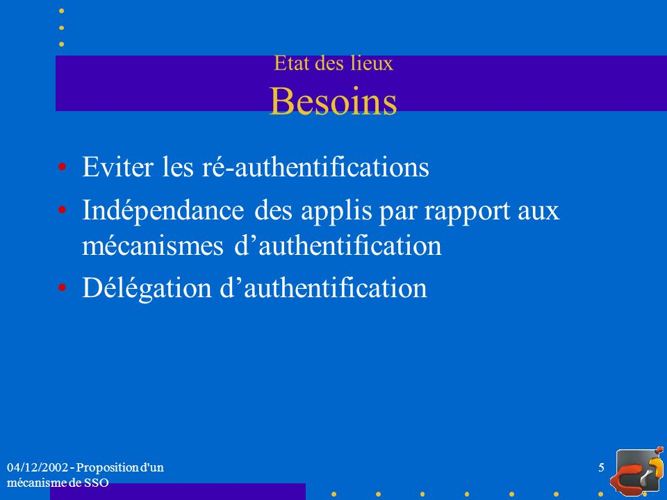 Eviter les ré-authentifications