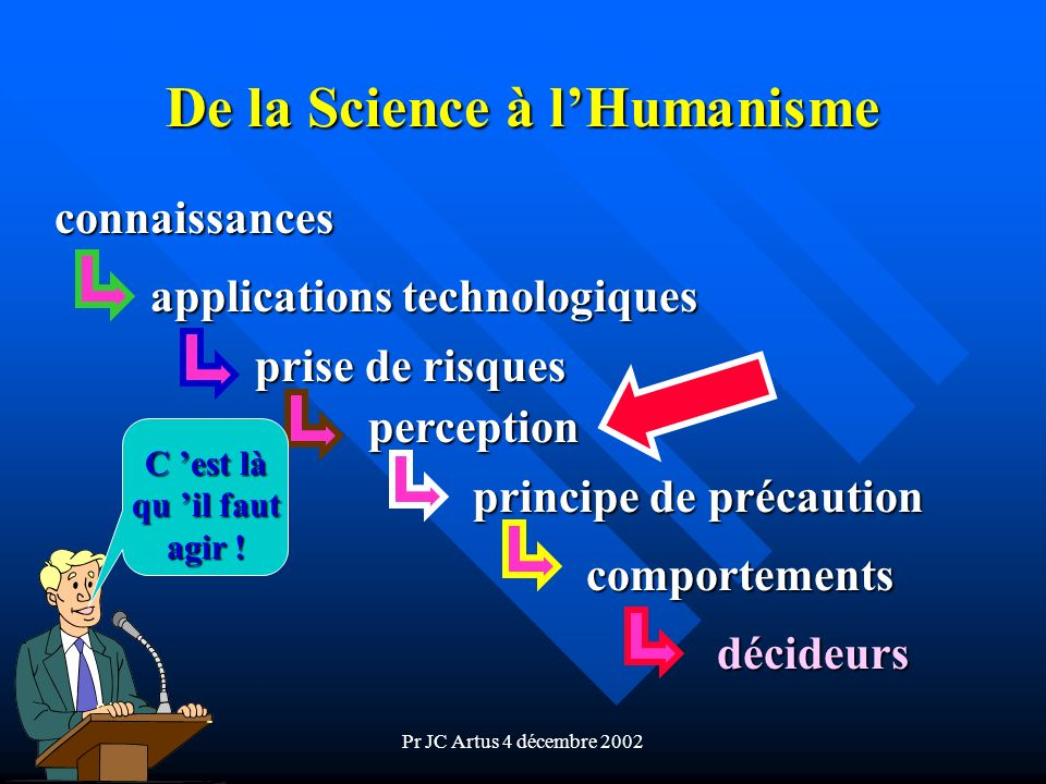 De la Science à l'Humanisme