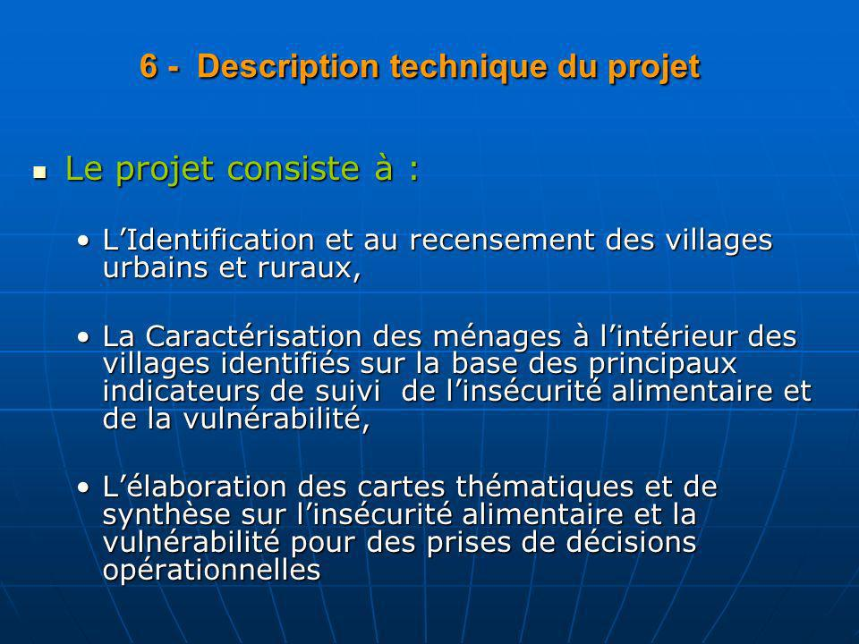 6 - Description technique du projet