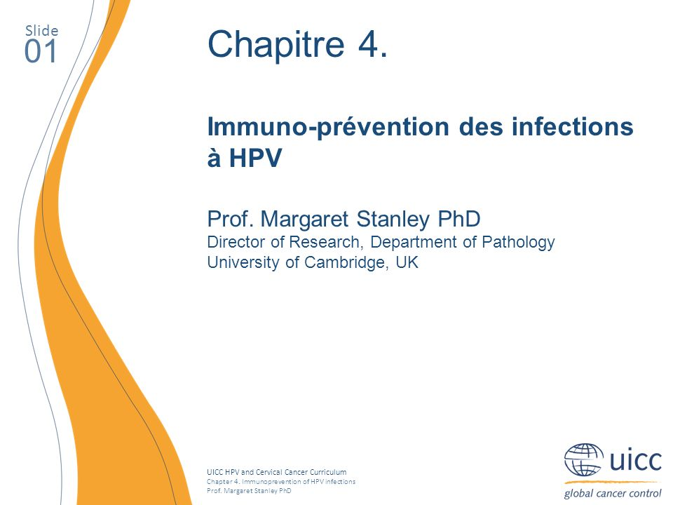 Uicc Hpv And Cervical Cancer Curriculum Ppt T 233 L 233 Charger