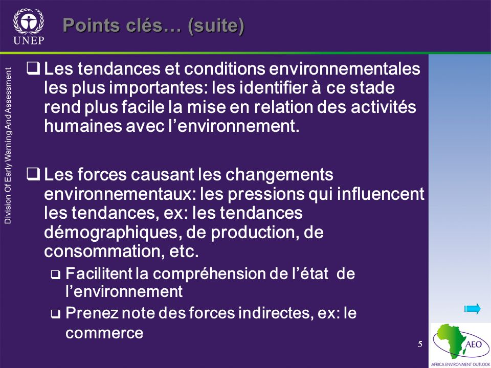 Points clés… (suite)
