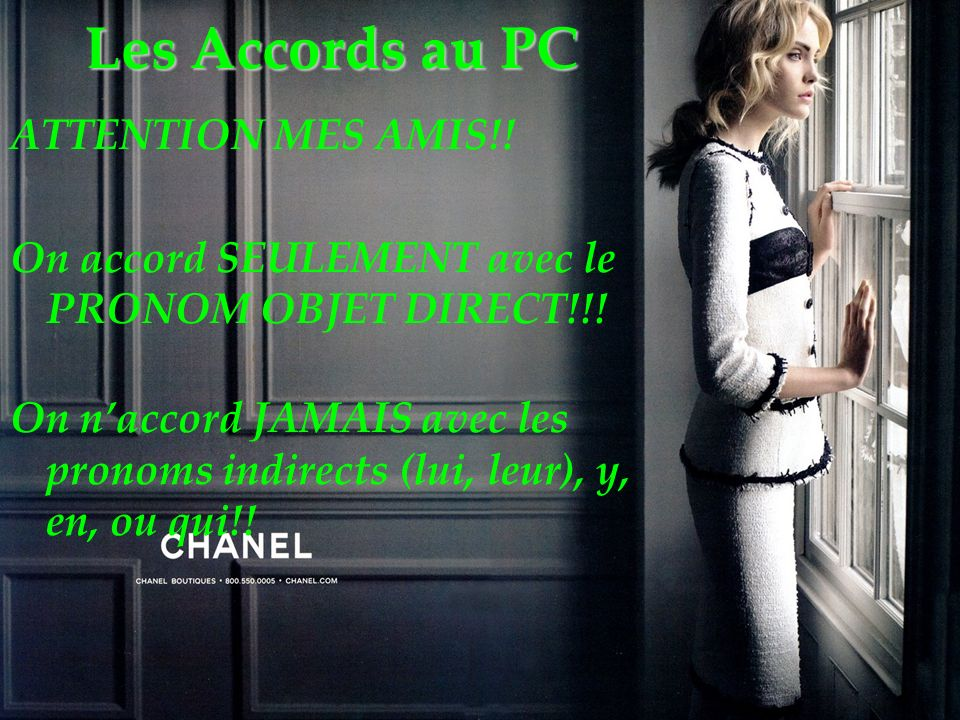 Les Accords au PC ATTENTION MES AMIS!!