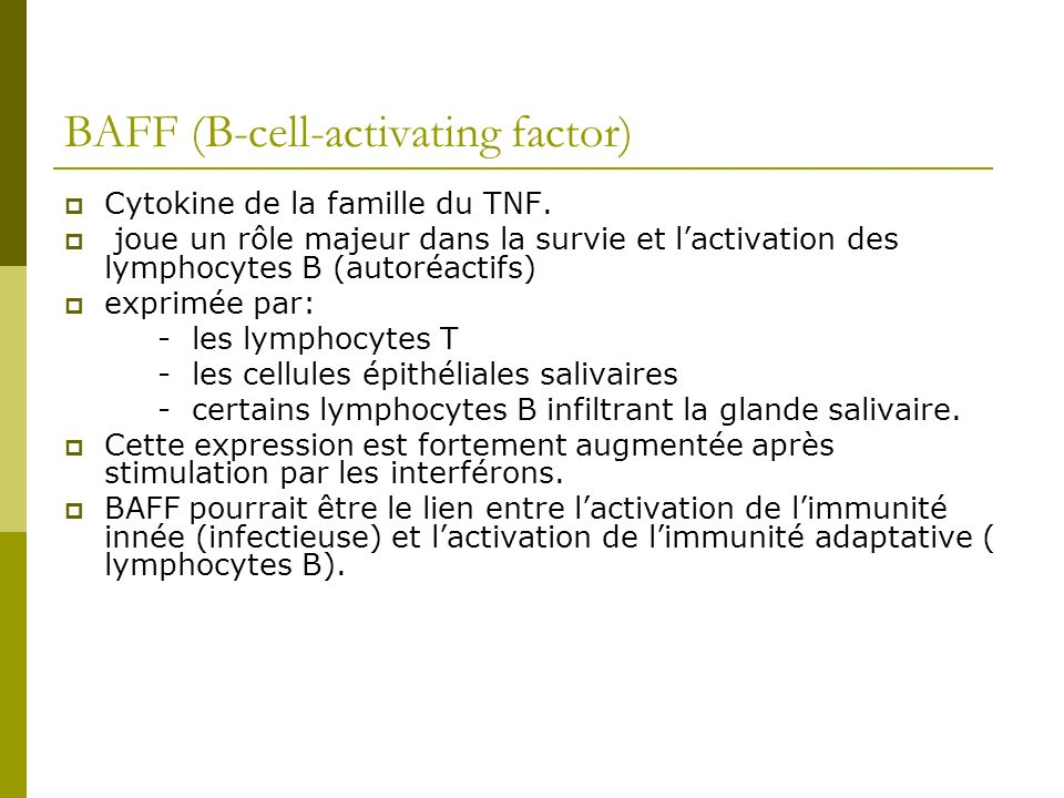 BAFF (B-cell-activating factor)
