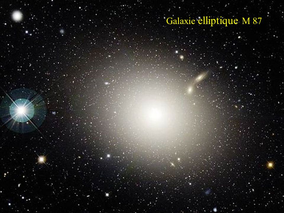 Galaxie elliptique M 87
