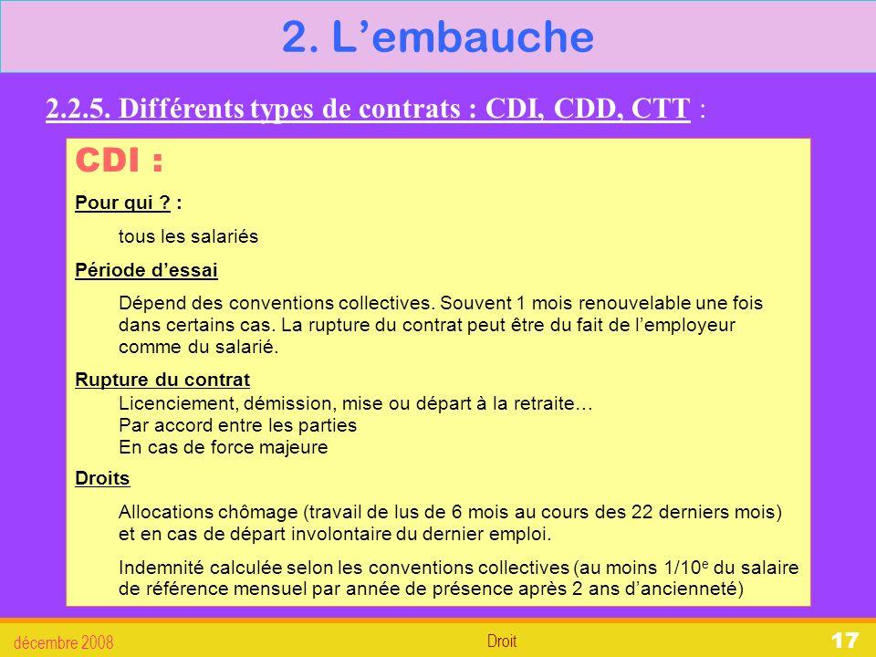 605bd16a6fc partie 2   droit du travail - ppt télécharger