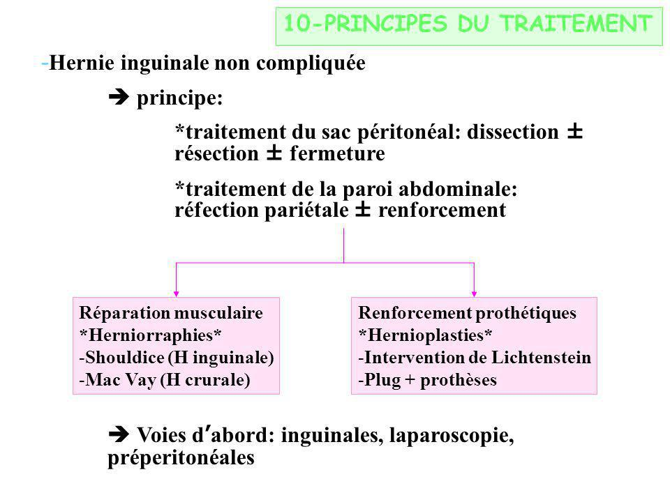 10-PRINCIPES DU TRAITEMENT