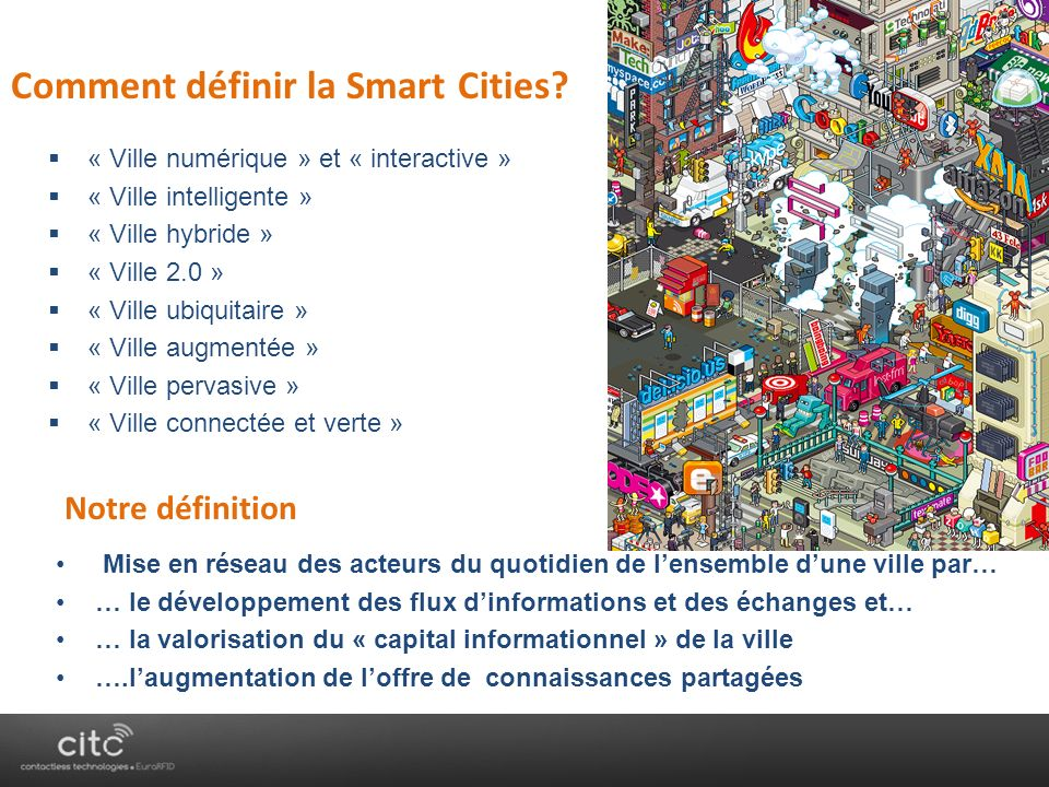 Comment définir la Smart Cities