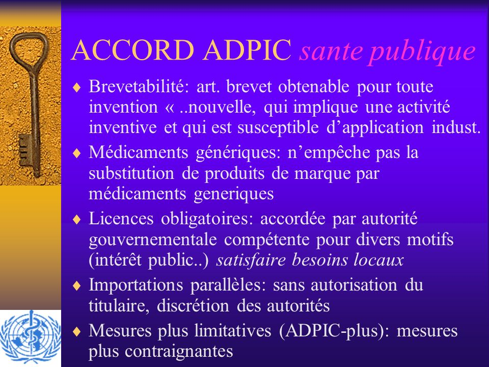 ACCORD ADPIC sante publique