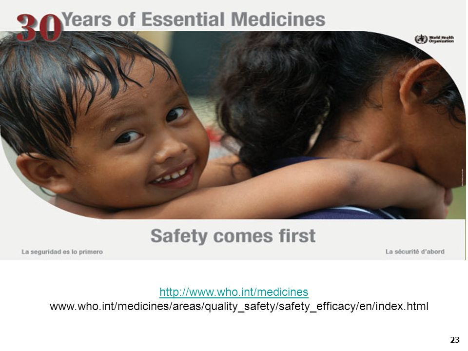Thank you http://www.who.int/medicines