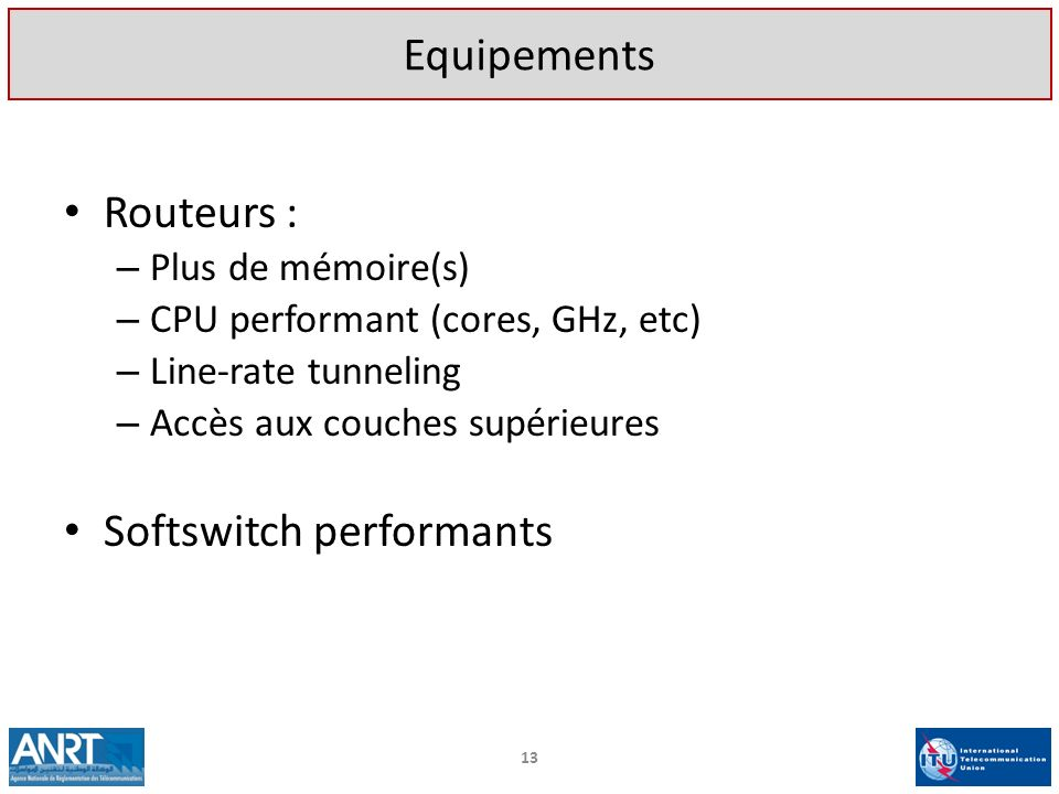 Softswitch performants