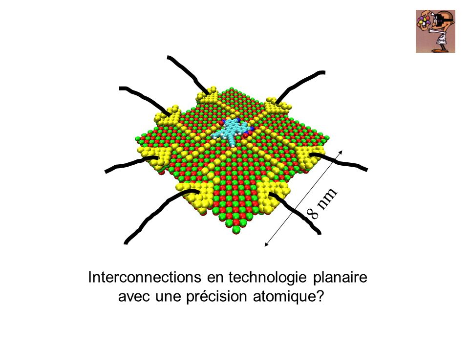 8 nm Interconnections en technologie planaire