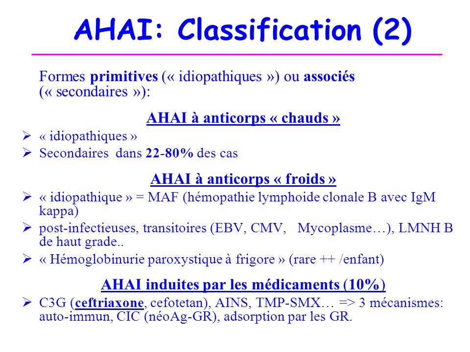 AHAI: Classification (2)