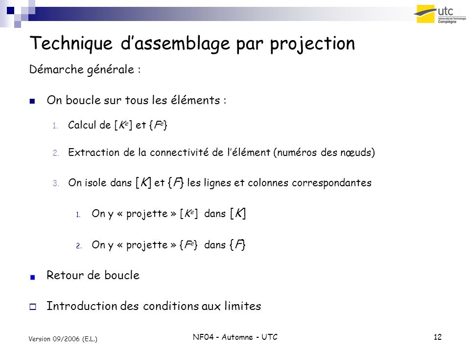 Technique d'assemblage par projection