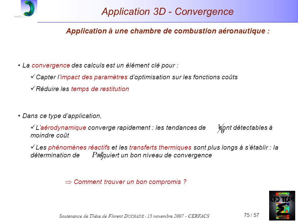Application 3D - Convergence