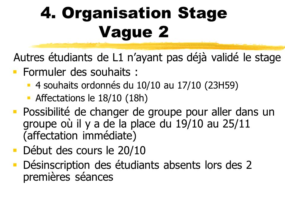 4. Organisation Stage Vague 2