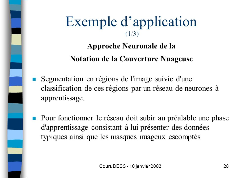 Exemple d'application (1/3)