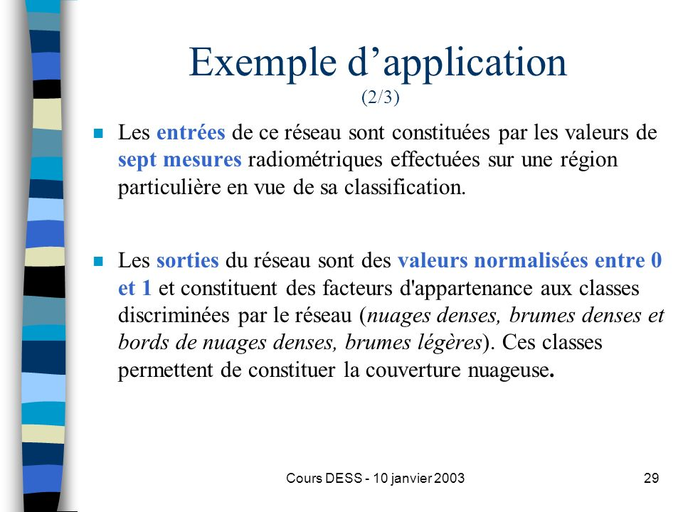 Exemple d'application (2/3)