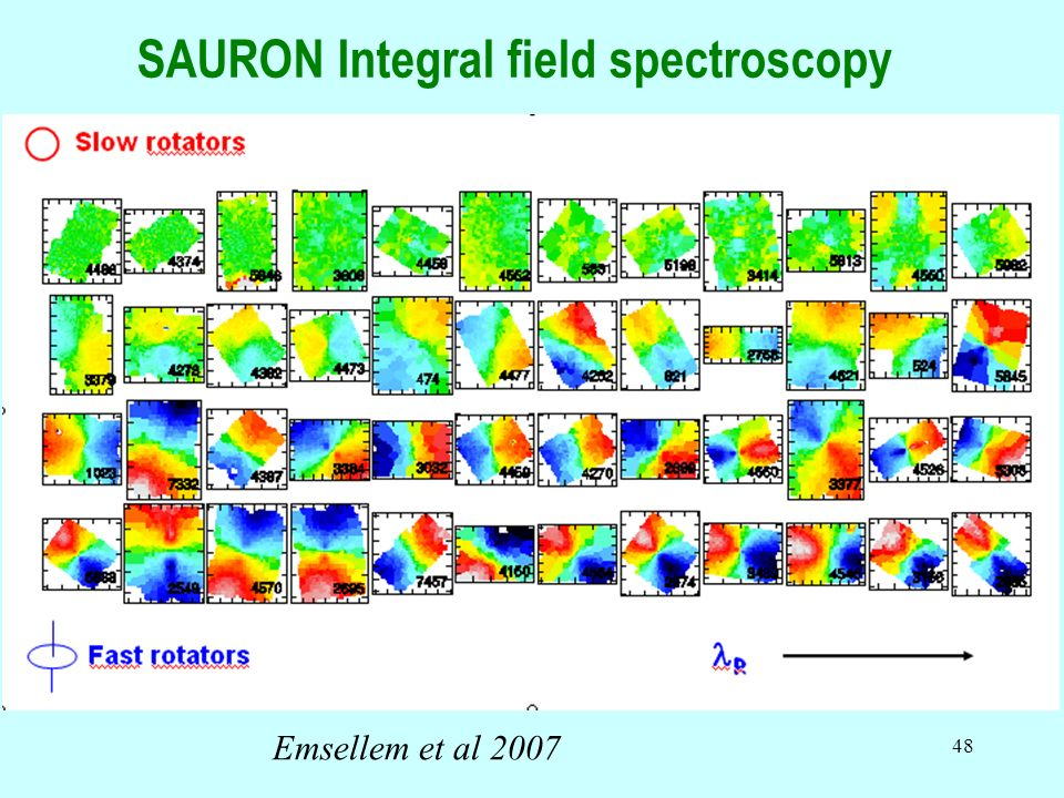 SAURON Integral field spectroscopy